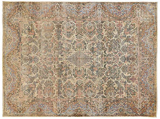 One Kings Lane Vintage Persian Kerman Carpet - 9' x 12'5""