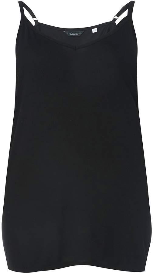 DP Curve Black Basic Layer Camisole Top