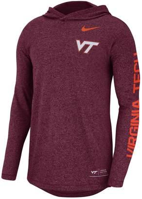 Nike Men's Virginia Tech Hokies Hoodie Tee