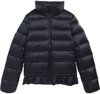 Moncler Anemonet Ruffle Trim Jacket