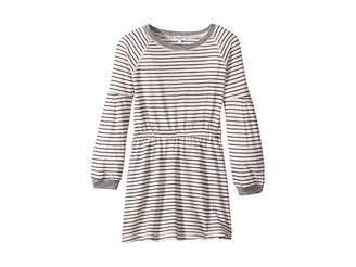 Splendid Littles Yarn-Dyed Long Sleeve Midi Dress (Little Kids)