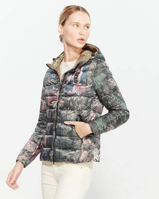 Blauer Printed Quilted Jacket