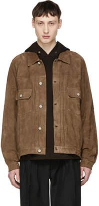 Visvim Brown Jumbo 101 Leather Jacket