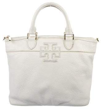 Tory Burch Leather Logo Satchel