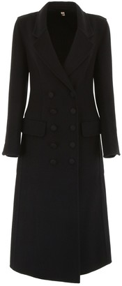 Burberry Black Cashmere Coats