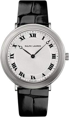 Ralph Lauren 38 MM White Gold