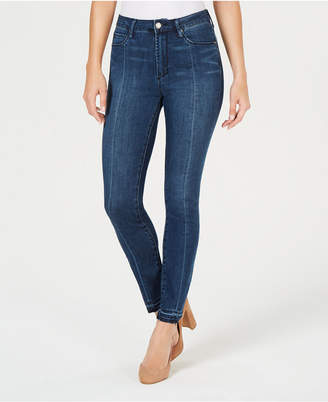 Articles of Society Rene Front-Seam Released-Hem Jeans