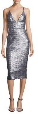 ABS Sequin Slip Dress