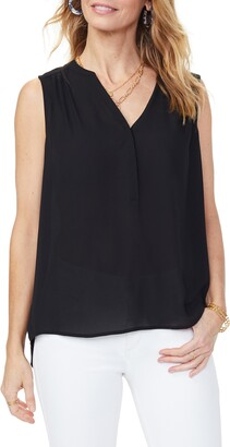 NYDJ Curves 360 by Perfect Sleeveless Blouse