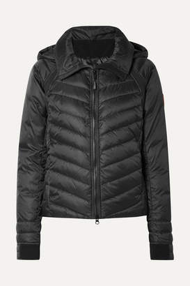 Canada Goose Hybridge Base Hooded Quilted Shell Down Jacket - Black