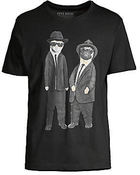 Eleven Paris Men's Men in Black Graphic T-Shirt