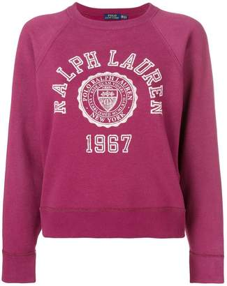 Polo Ralph Lauren collegiate fleece jumper