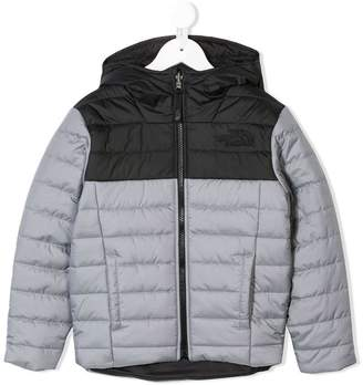The North Face Kids hooded padded jacket