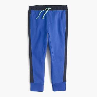 J.Crew Boys' side-stripe sweatpant in slim fit