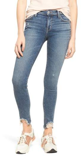 The Stiletto High Waist Ankle Skinny Jeans