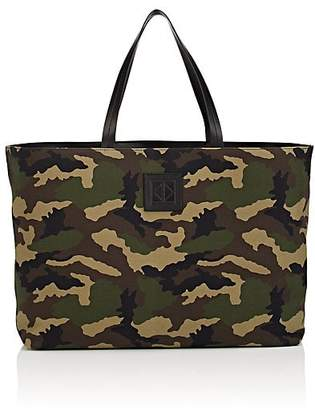 Tomasini Men's Canvas & Leather Tote Bag