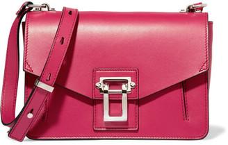 Proenza Schouler - Hava Leather Shoulder Bag - Magenta $1,550 thestylecure.com