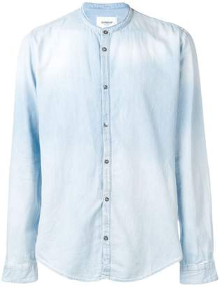 Dondup band collar denim shirt