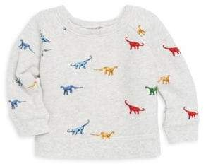 Bonpoint Baby Boy's & Little Boy's Dino Cotton Sweatshirt