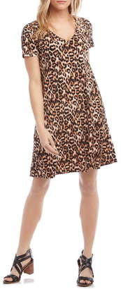 Karen Kane Quinn Leopard Swing Dress