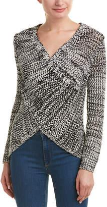 Derek Lam 10 Crosby Cross-Front Sweater