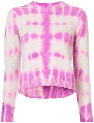 The Elder Statesman tie dye sweater
