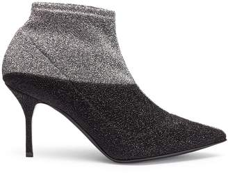 Pierre Hardy 'Kelly' colourblock knit boots