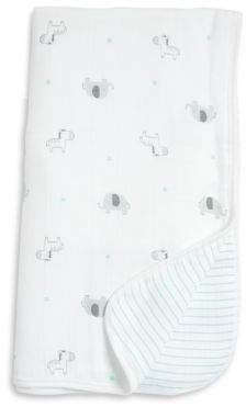 Little Me Baby's Safari Cotton Blanket