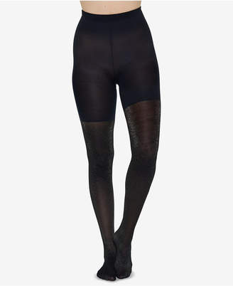 Spanx Metallic Shimmer Mid-Thigh Shaping Tights