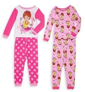 AME Sleepwear Little Girl's Fancy Nancy Pajamas Set of Two