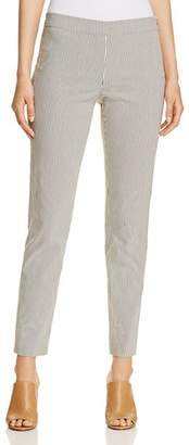 Donna Karan Striped Skinny Pants