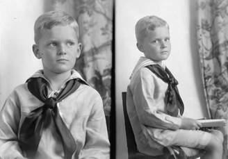Thomas Laboratories Historic Photos 1939 photo THOMAS, AUGUSTUS H. PORTRAIT Vintage Black & White Photograph b1