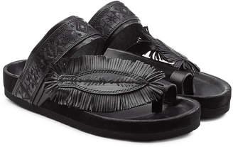 Isabel Marant Ebann Leather Sandals