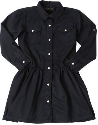 Finger In The Nose Twill Shirt Dress