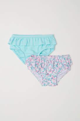 H&M 2-pack Bikini Bottoms - Pink