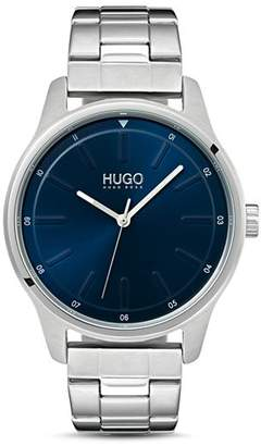 HUGO #DARE Link Bracelet Blue Watch, 42mm
