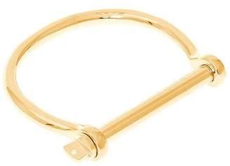 Sterling Forever Screw Bangle Bracelet