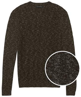 Banana Republic Space-Dye Crew-Neck Sweater