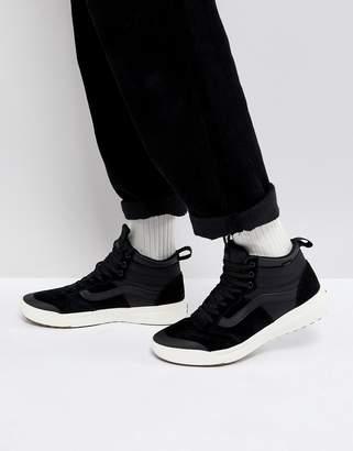 975e9ad8d46c at ASOS Vans Mn Ultra Range Hi Sneakers In Black VA3JESDW5
