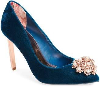 Ted Baker Peetchv Embroidered Pump