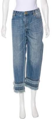 MICHAEL Michael Kors Mid-Rise Straight-Leg Jeans w/ Tags