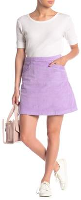 Vero Moda Thea Corduroy Mini Skirt