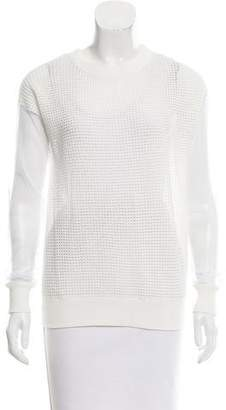 Tess Giberson Long Sleeve Crew Neck Top