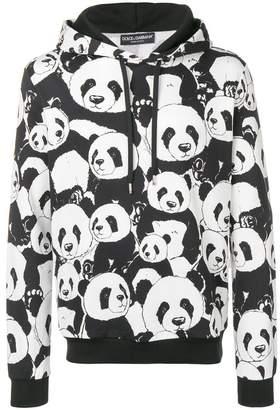 Dolce & Gabbana panda print hoodie