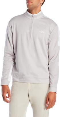 Callaway Quarter-Zip Fleece Color Block Pullover