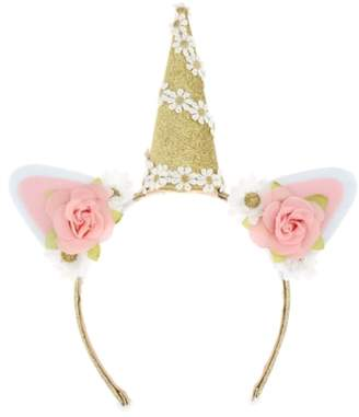 Capelli New York Capellil New York Glitter & Flowers Unicorn Headband