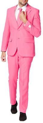 OPPOSUITS Mr. Pink Slim-Fit Three-Piece Suit