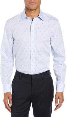 Bonobos Daily Grind Slim Fit Print Dress Shirt