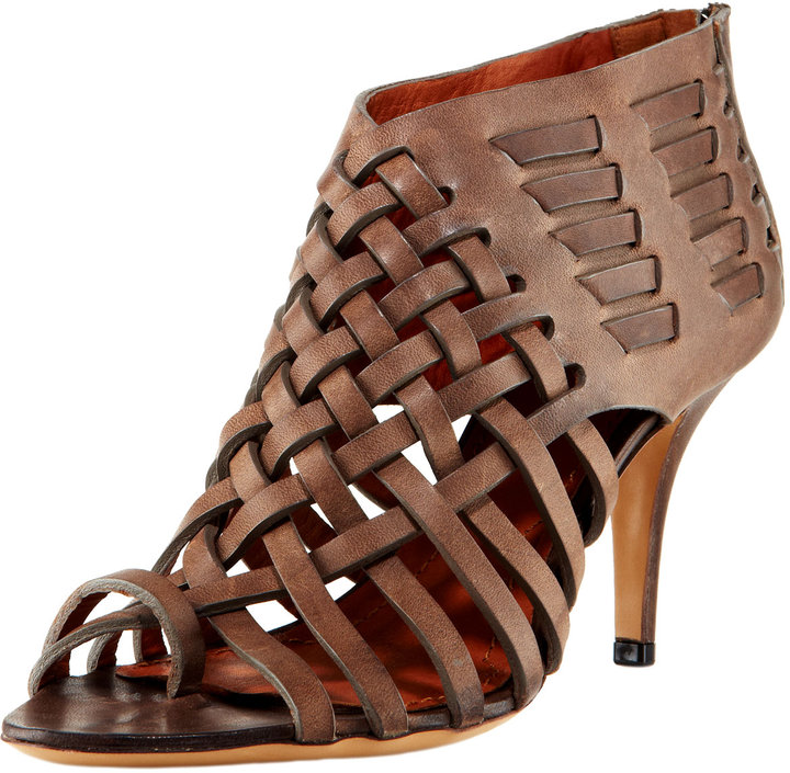 Givenchy Woven Leather Sandal