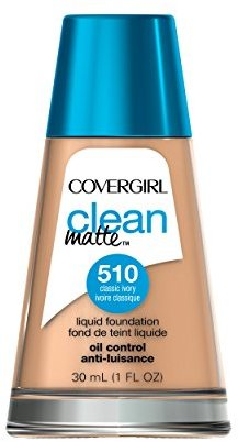 COVERGIRL Clean Matte Liquid Foundation Classic Ivory 1 fl. oz $11.99 thestylecure.com